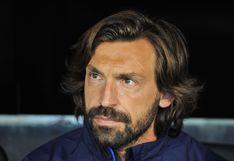 Andrea Pirlo no podrá ser el entrenador oficial de Juventus hasta octubre al no tener la licencia UEFA