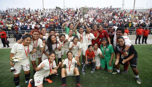 La 'U' clasificó a la Libertadores en diciembre de 2019. Cindy Novoa será una de las grandes ausencias. (Foto: Jesús Saucedo / GEC)