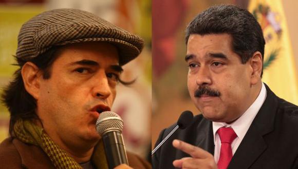 Jaime Bayly y Nicolás Maduro. El primero llamó tirano al segundo y este lo acusó de consumir drogas. (Video: YouTube/Latin Signal)
