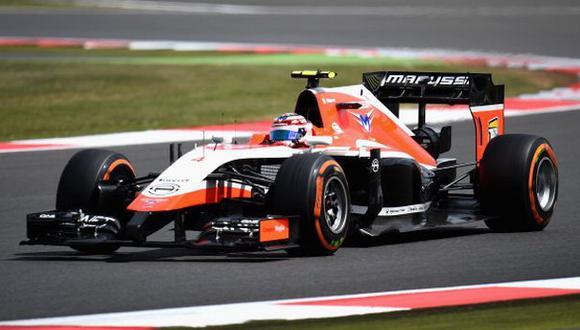 F1: team Marussia de Jules Bianchi no correrá en EE.UU.