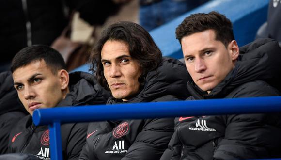"""Thomas Tuchel, entrenador del PSG: """"Creo que Cavani no está con el grupo"""" [Foto: AFP]"""