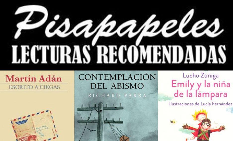 Pisapapeles: libros para leer esta semana