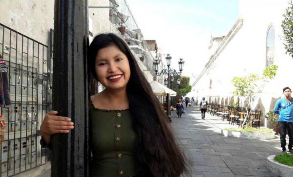La joven, hoy de 19 años, empezó su tratamiento a los 9. Vivía en la ciudad de Juliaca (Puno) y fue trasladada a Arequipa. (Foto: Zenaida Condori)