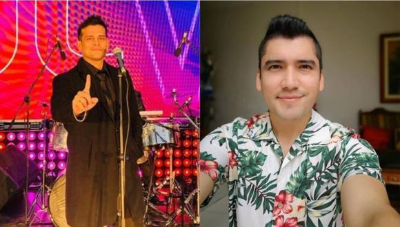 Christian Domínguez se quiebra al hablar de separación de Angelo Fukuy de su agrupación. (Foto: @angelofukuyperu/@chrisdominguezof)