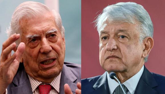 """Mario Vargas Llosa: """"AMLO se tenía que haber enviado la carta a sí mismo"""". (AFP)"""
