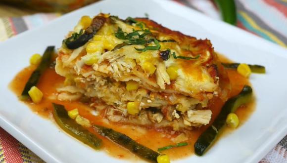 Pastel azteca. (Mi Cocina Rápida|YouTube)