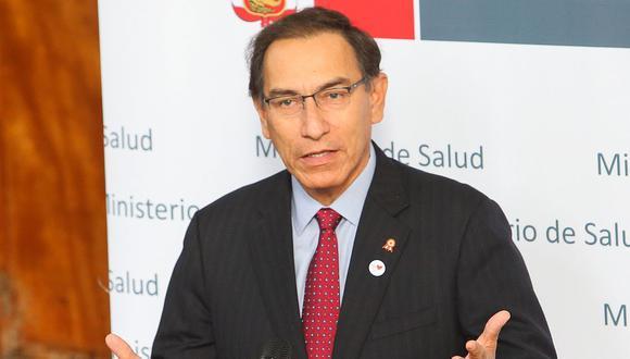 El presidente Martín Vizcarra justificó el breve plazo que tendrá la comisión para elaborar su propuesta de reforma. (TV Perú)