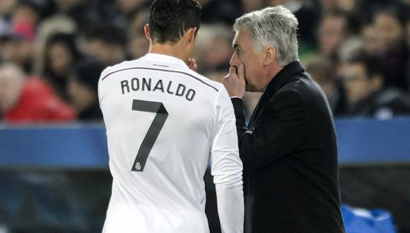 """Según el periódico italiano """"La Gazzetta dello Sport"""", Carlo Ancelotti quiere que la directiva del Bayern Múnich luche por el fichaje de Cristiano Ronaldo. (Foto: AFP)"""