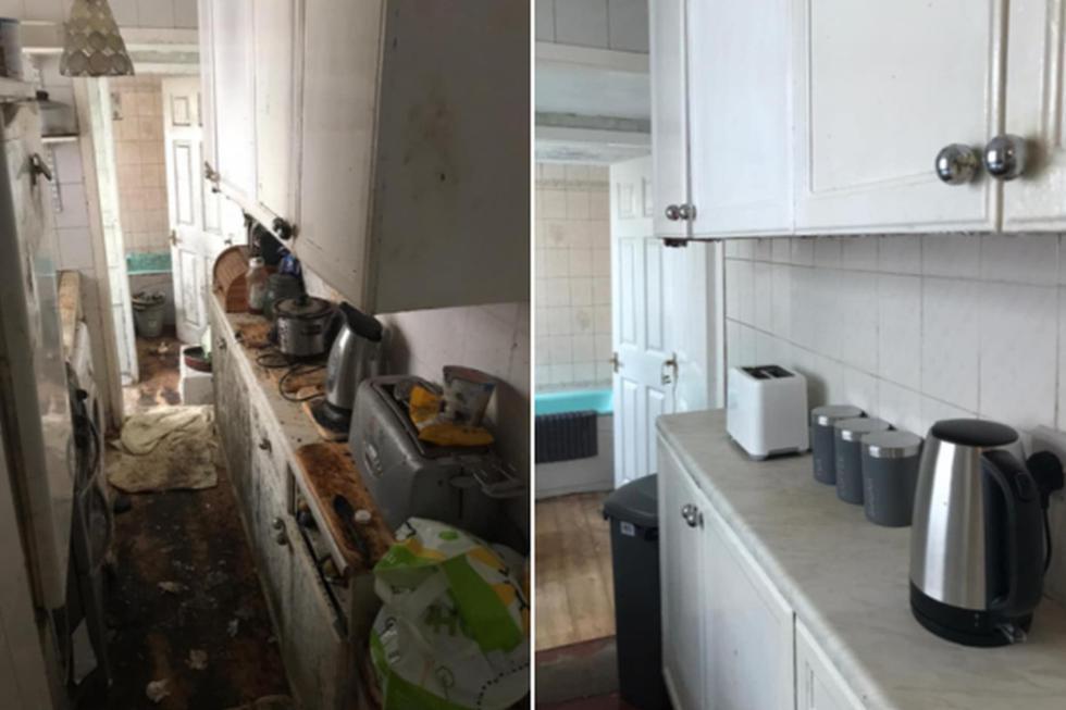 La casa pasó de estar muy sucia a estar reluciente. (Foto: My Kind Of Clean / Facebook)