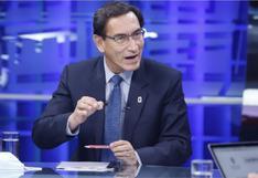 """""""No he recibido ningún soborno por ninguna obra en ninguna parte del Perú ni del mundo"""", aseguró Martín Vizcarra"""