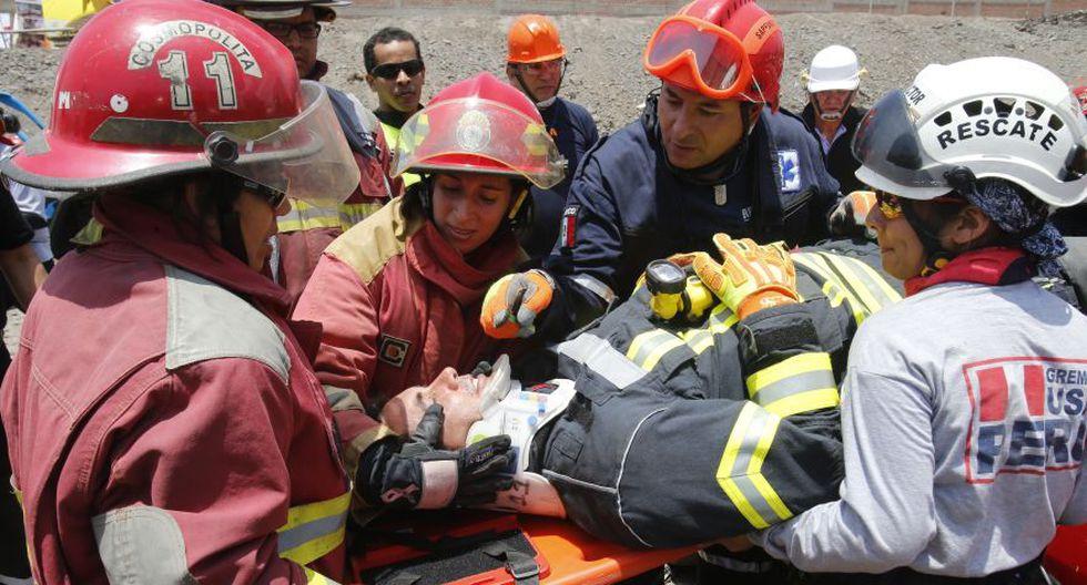 Bomberos y serenos de San Borja se preparan ante emergencias - 5