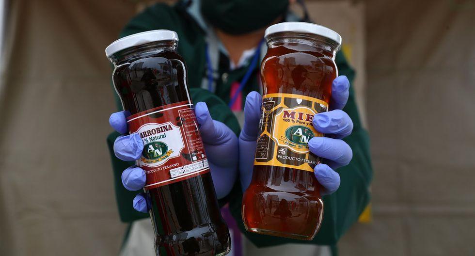 Desde La Libertad, Abejas del Norte trae su miel de abejas y de algarrobina. (Foto: Alessandro Currarino)