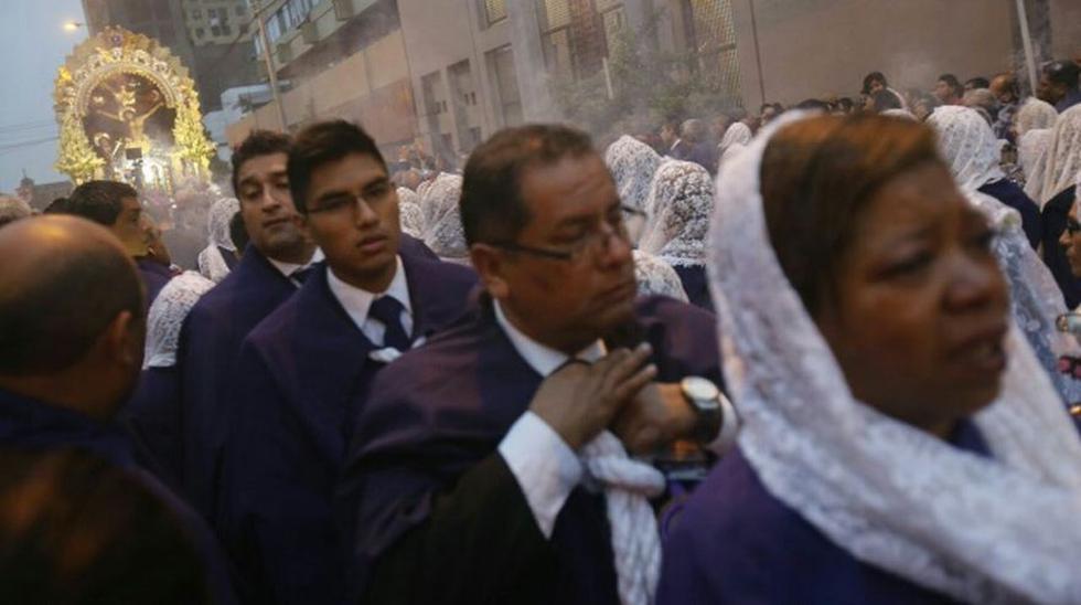 Semana Santa: Señor de los Milagros recorre el Centro de Lima - 3