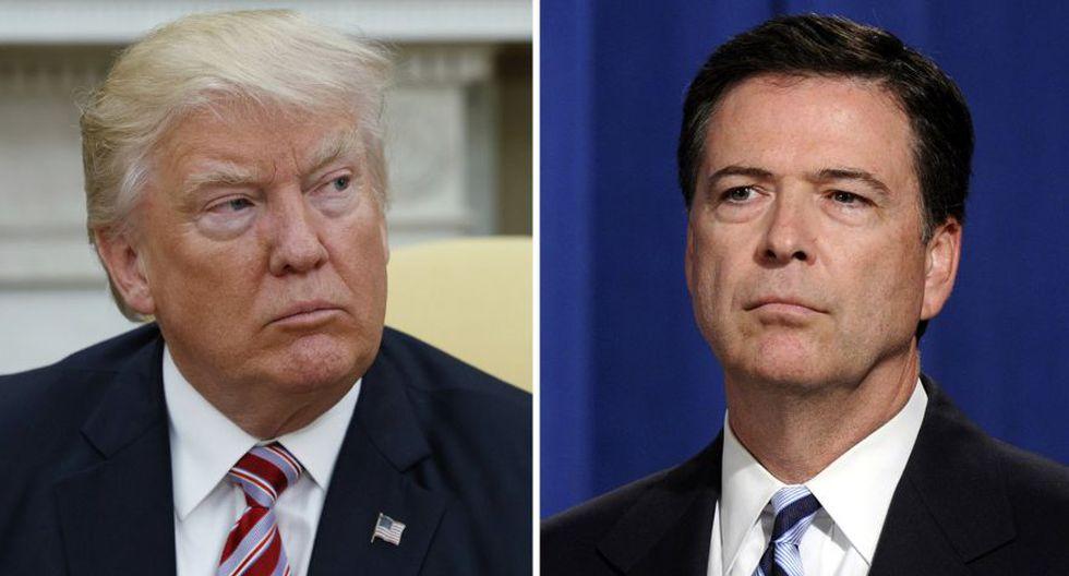 Donald Trump acusa al ex director del FBI James Comey de violar la ley. (Foto: AP)