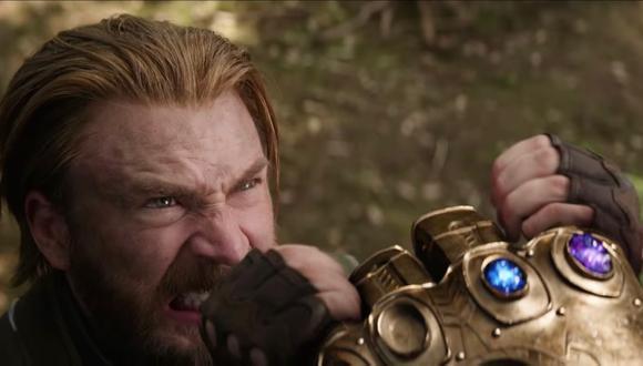 Pero en el segundo tráiler Thanos, cuyo puño es detenido por el Capitán América, solo tiene dos gemas. (Foto: Marvel Studios)