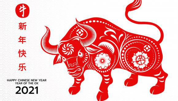 Según la astrología china, el signo del Buey representa la prosperidad a la que se llega gracias al trabajo fuerte y a la determinación. También es símbolo de inteligencia y confianza. (Foto: Freepik / olaf1741)