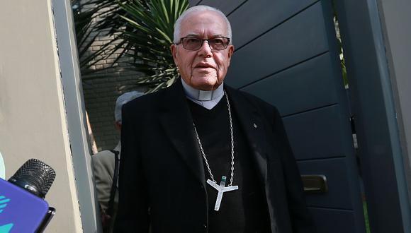 El arzobispo de Lima, monseñor Carlos Castillo, informó que el monseñor Luis Bambarén pidió ser enterrado en Chimbote. (Foto: GEC)