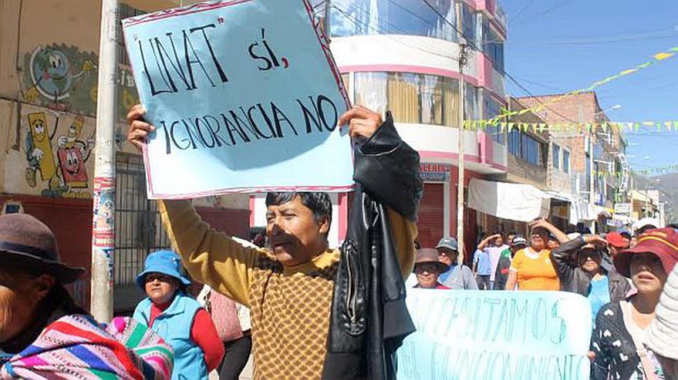 Tayacaja acata paro indefinido en demanda de su universidad - 2
