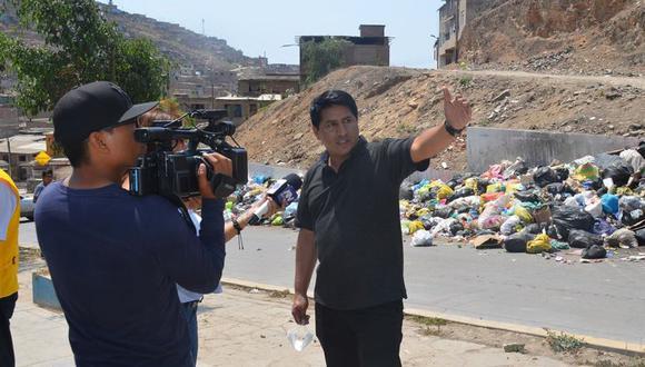 Infanzón Quispe asume el cargo mientras se resuelve la situación jurídica de Ángel  Chilingano (Foto: Villa María del Triunfo)