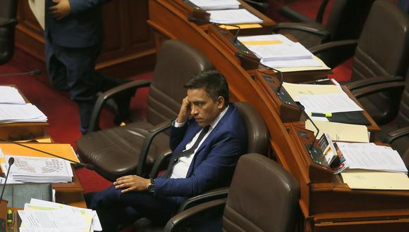 El congresista Roberto Vieira negó que el dinero que le solicitó a su primo hermano fuese para él. Agregó que era para contratar a un abogado experto en temas pesqueros. (Foto: GEC)