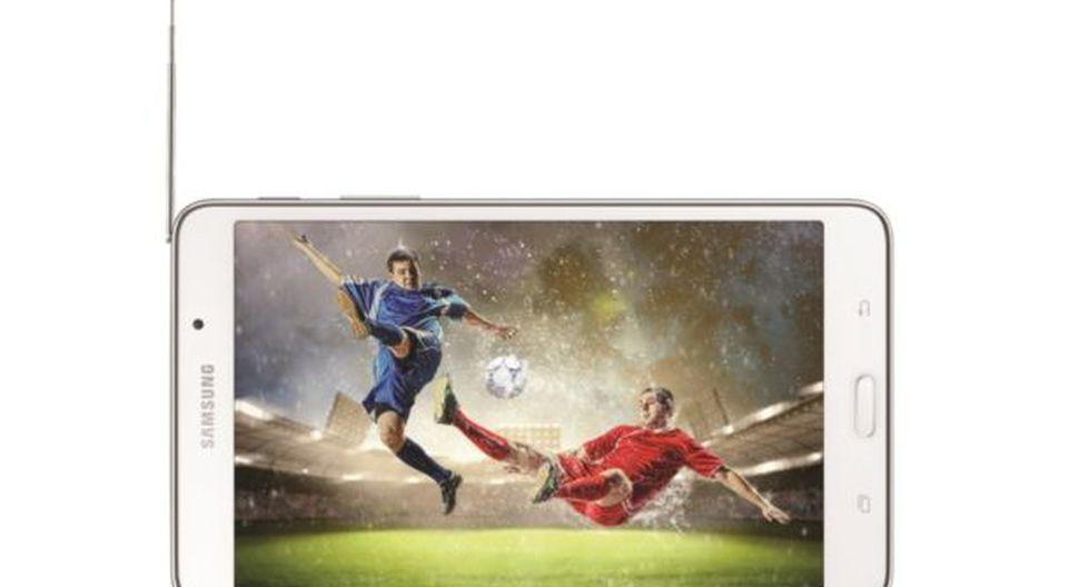La Samsung Galaxy Tab4 para ver televisión en HD en Lima