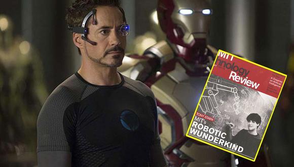 Tony Stark, Iron Man, y lo extraño de su titulación en el MIT. Foto: Marvel.