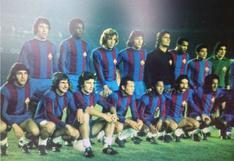 El capitán Héctor Chumpitaz y la historia detrás del día en que posó con la camiseta del Barcelona