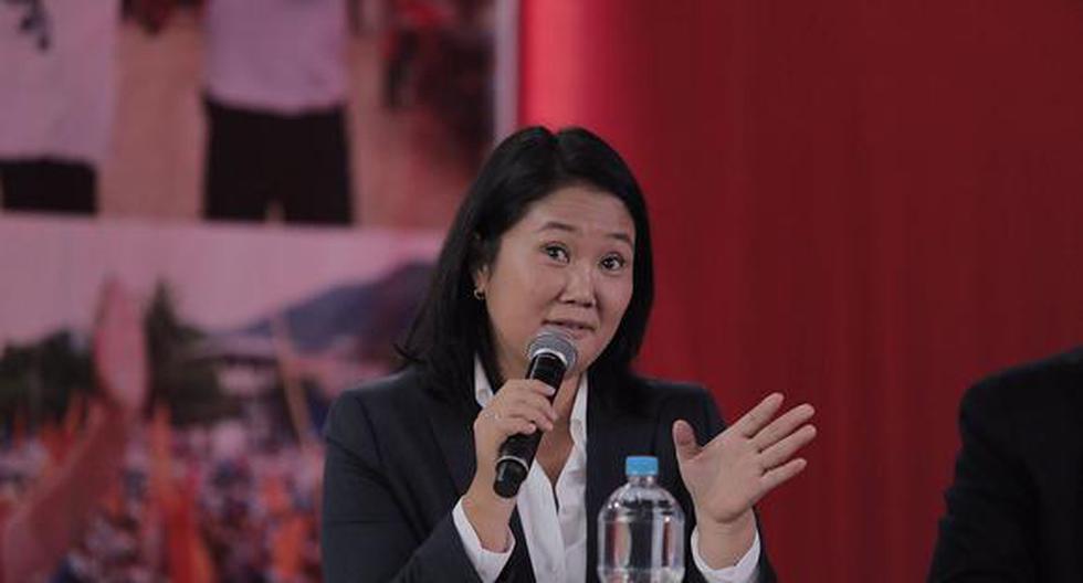 La candidata presidencial Keiko Fujimori cuestionó que el fiscal José Domingo Pérez abra una nueva investigación en su contra (Foto: El Comercio)