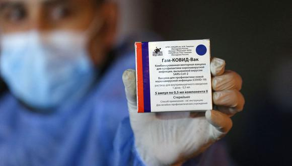 Italia producirá 10 millones de dosis mensuales de la vacuna Sputnik V contra el coronavirus, según Rusia. (Foto: SAID KHATIB / AFP).