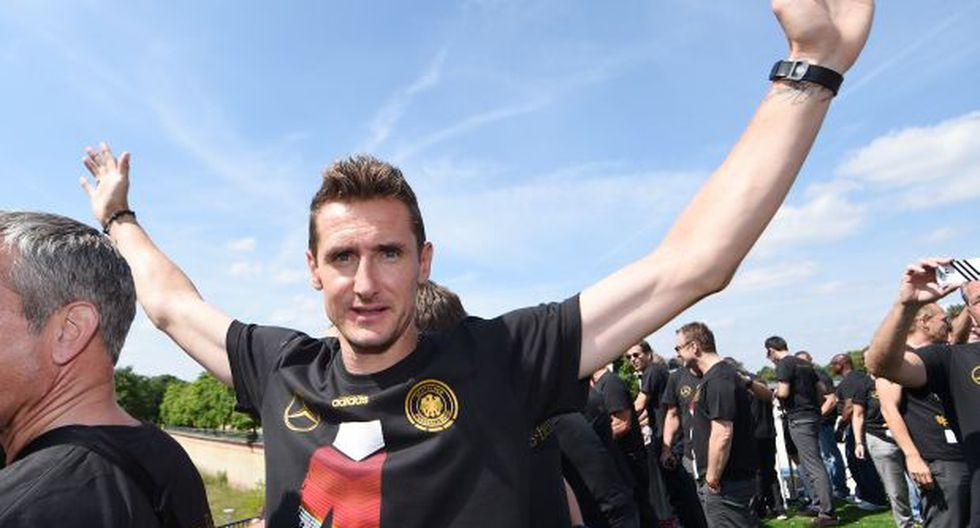 """Klose: """"Con el título en Brasil cumplí un sueño de niño"""""""