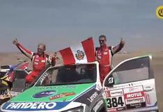 """Dakar 2019   Fernando Ferrand: """"Correr padre e hijo es simpático""""   VIDEO"""