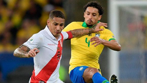La última vez que Perú y Brasil se enfrentaron por la Copa América fue en el 2019, en la final del torneo. (Foto: AFP)