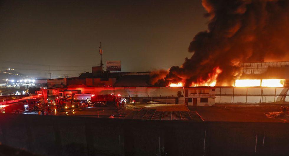 El Agustino: la tragedia que cobró vida de 3 bomberos [FOTOS] - 4