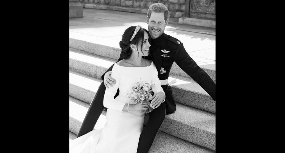 Meghan Markle y el príncipe Harry se casaron en el castillo de Windsor, a unos 40 km al oeste de Londres, en una ceremonia retransmitida en todo el mundo. (Foto: AFP)