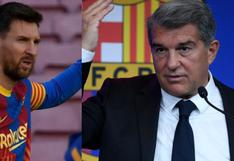 Presidente del FC Barcelona no irá a los amistosos del club para seguir con la 'operación' de Lionel Messi