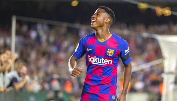 Ansu Fati, FC Barcelona: el valor de mercado del canterano azulgrana se  disparó en el fútbol europeo   Fichajes   NCZD   DEPORTE-TOTAL   EL  COMERCIO PERÚ