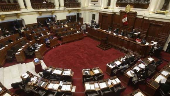 Pleno del Congreso aprobó modificación sobre financiamiento ilegal que afectaría procesos en curso que existen en el ámbito judicial contra Fuerza Popular y el Apra. (Foto: El Comercio)