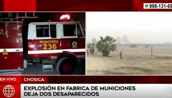 Los bomberos intensifican las medidas de seguridad necesarias a fin de ubicar posibles víctimas | Foto: América Noticias