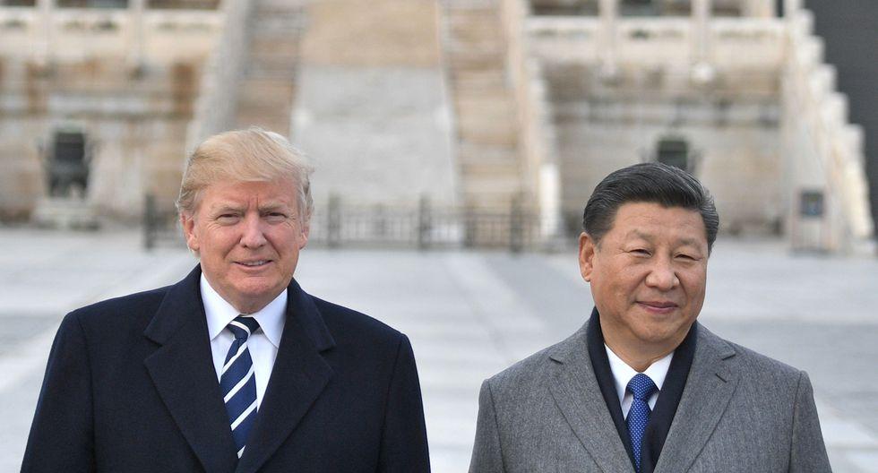 Ninguno de los dos países había mencionado los aranceles sobre la importación de autos en sus textos oficiales tras la reunión de dos horas y media entre Trump y Xi Jinping. (Foto: AFP)