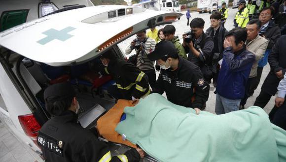 Corea del Sur: 9 muertos y 287 desaparecidos dejó naufragio