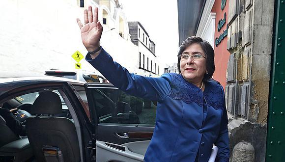 Marianella Ledesma votó a favor de que se declare infundada la demanda competencial.  (Foto: GEC)