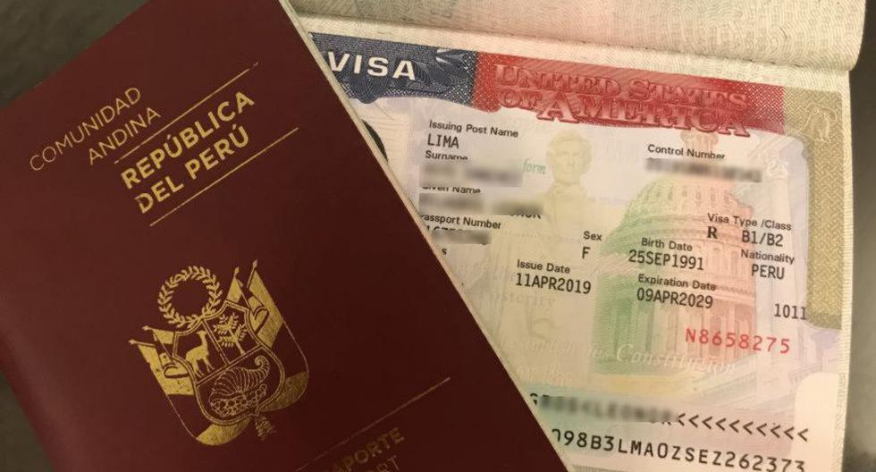 La Embajada de Estados Unidos en Perú aún no reanuda las citas para quienes solicitan visas por primera vez. Los servicios fueron limitados debido a la gravedad de la pandemia de coronavirus COVID-19. (Foto: Milagros Asto / El Comercio)