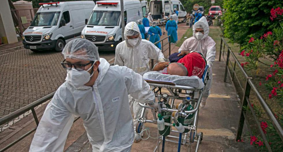 Coronavirus en Brasil | Últimas noticias | Último minuto: reporte de infectados y muertos hoy, domingo 07 de febrero del 2021. (Foto: AFP / TARSO SARRAF).