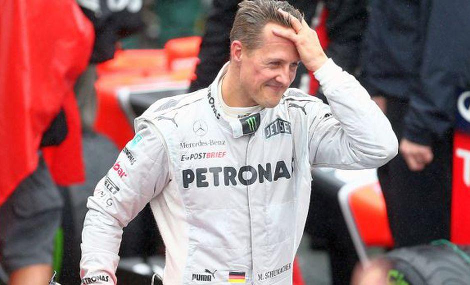 """Michael Schumacher, ex campeón de Fórmula 1, """"no puede caminar"""""""