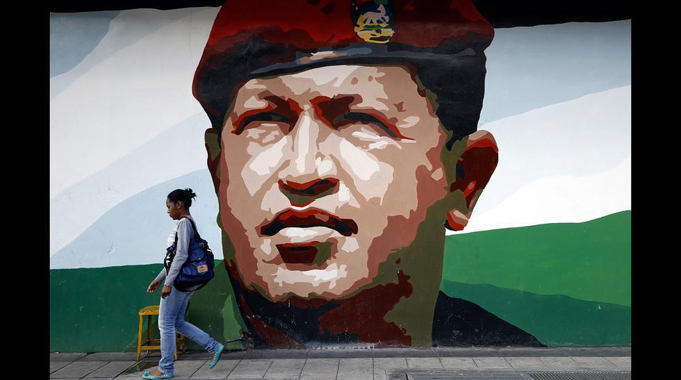 La presencia de Hugo Chávez en las calles de Venezuela - 8