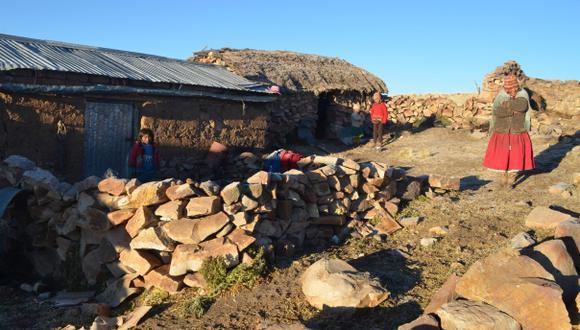 Puno: el frío afecta con más fuerza a familias en zonas altoandinas de la región