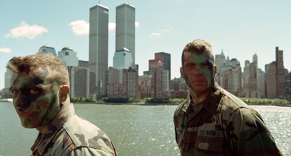 Las Torres Gemelas antes del atentado terrorista del 11 de septiembre. (Foto: AFP)