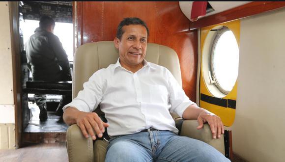 El informe del equipo especial señala que el expresidente Ollanta Humala fue integrante del denominado 'club de la construcción'. (Foto:GEC)