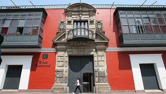 Tribunal Constitucional respondió al pedido del expresidente de la Comisión Permanente, Pedro Olaechea. (Foto: GEC)