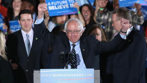 """Sanders en New Hampshire: Estadounidenses quieren """"cambio real"""""""